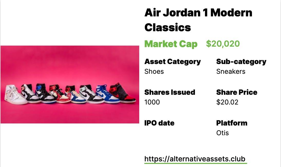 Sneakers Investing - Air Jordans 1s, Nike x Artist Collection, and Air Jordan 1 Modern Classics
