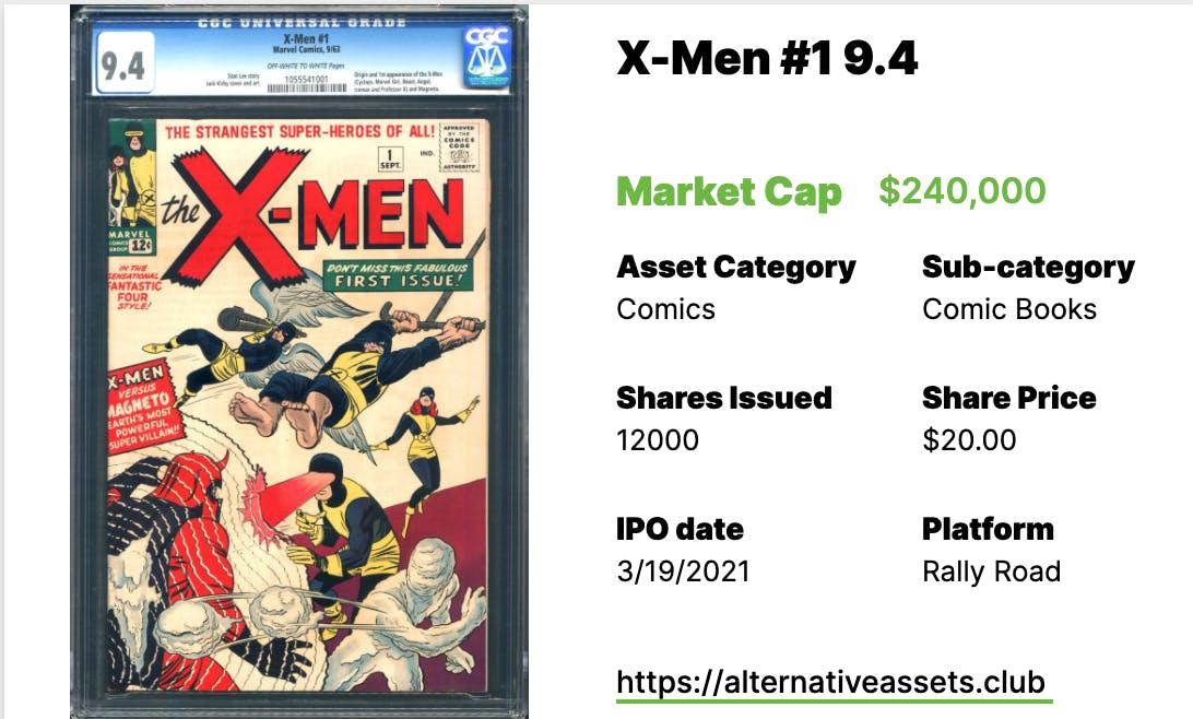 X-Men #1 CGC 9.4