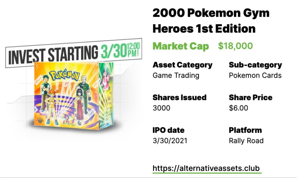 2000 Pokemon Gym Heroes 1st Edition Booster Box
