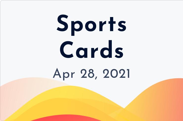 sports cards insider april 28, 2021