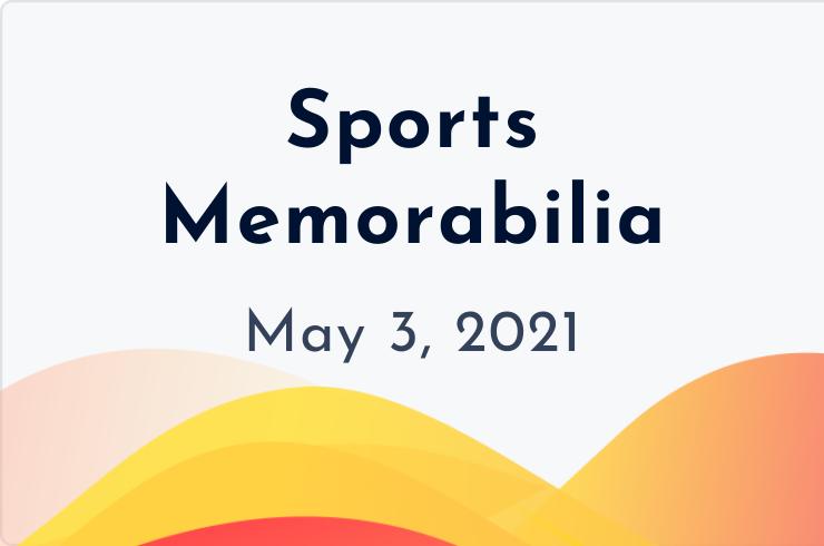 sports memorabilia insider may 3, 2021