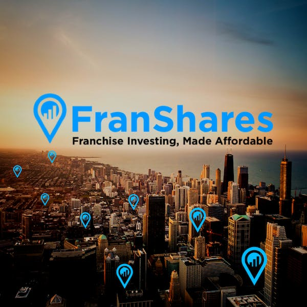 FranShares logo over Chicago