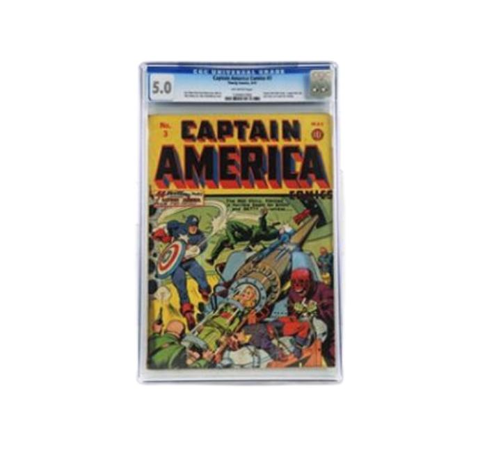 Captain America #3 5.0