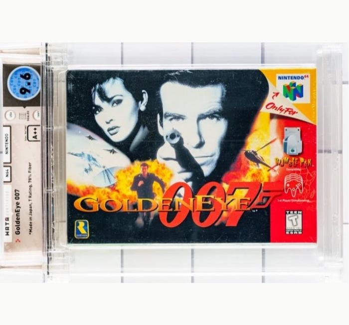 1997 N64 game GoldenEye 007