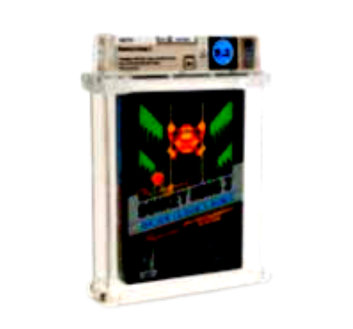 Donkey Kong 3 1986 NES WATA 9.2 A+