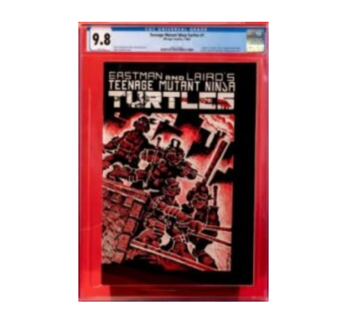 Teenage Mutant Ninja Turtles #1 9.8