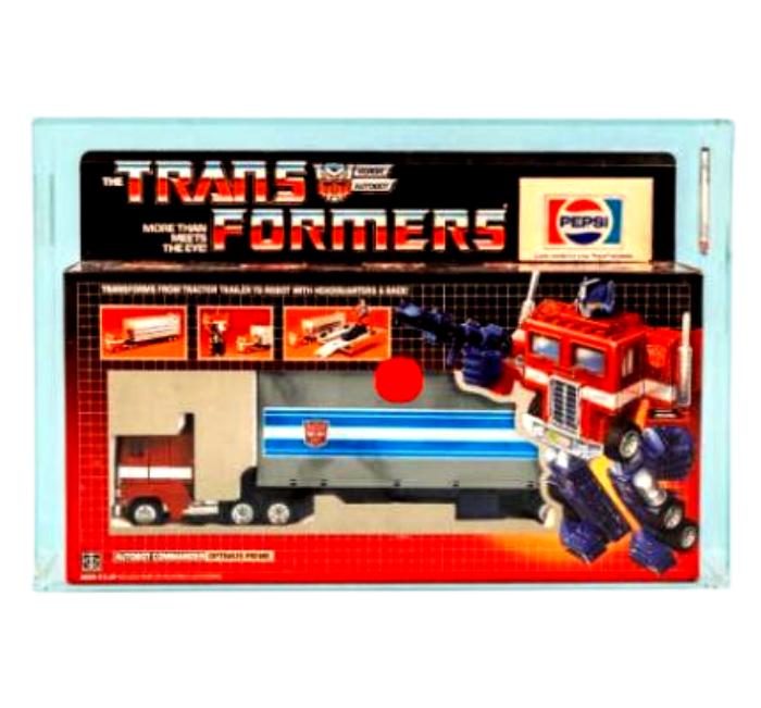 Optimus Prime 1984 Transformers G1 Pepsi