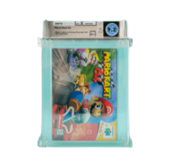 Mario Kart 64 WATA 9.2 A++