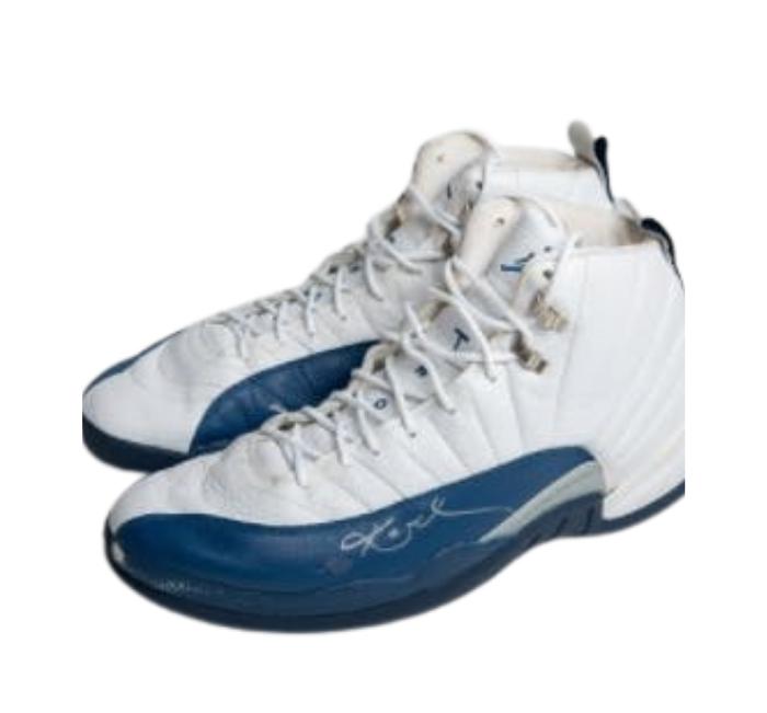 2003 Kobe Bryant Signed Game Worn Air Jordan