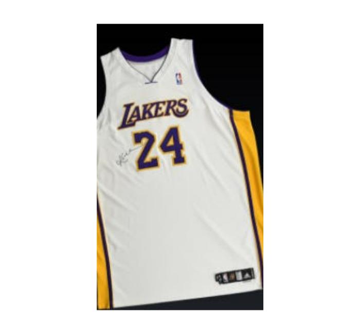 Kobe Bryant 2006 Signed Jersey Photomatched