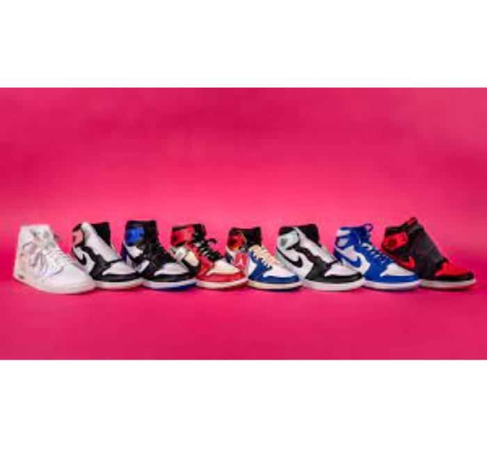 several air jordan shoes