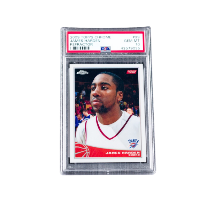james harden refractor sports cards asset preview image